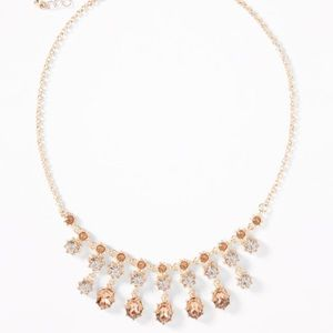 Old Navy pink and gold necklace, NWT
